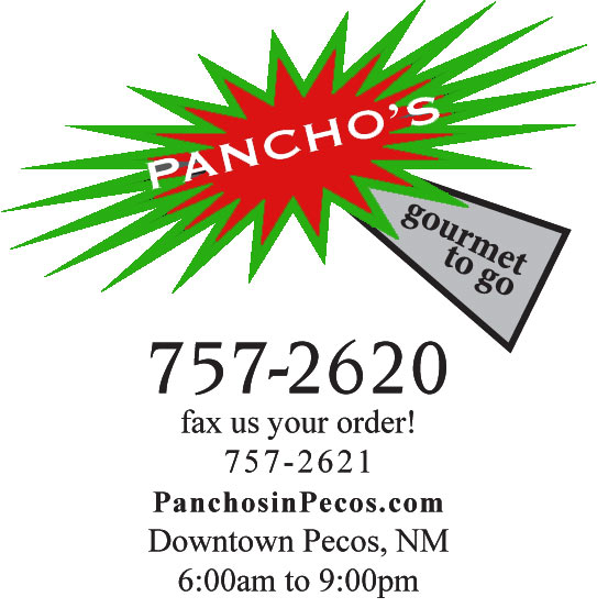 Pancho's Gourmet To Go in Pecos, New Mexico 1-505-757-2620